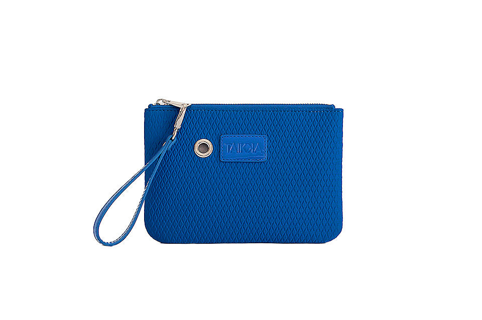Neoprene Clutch (electric blue)