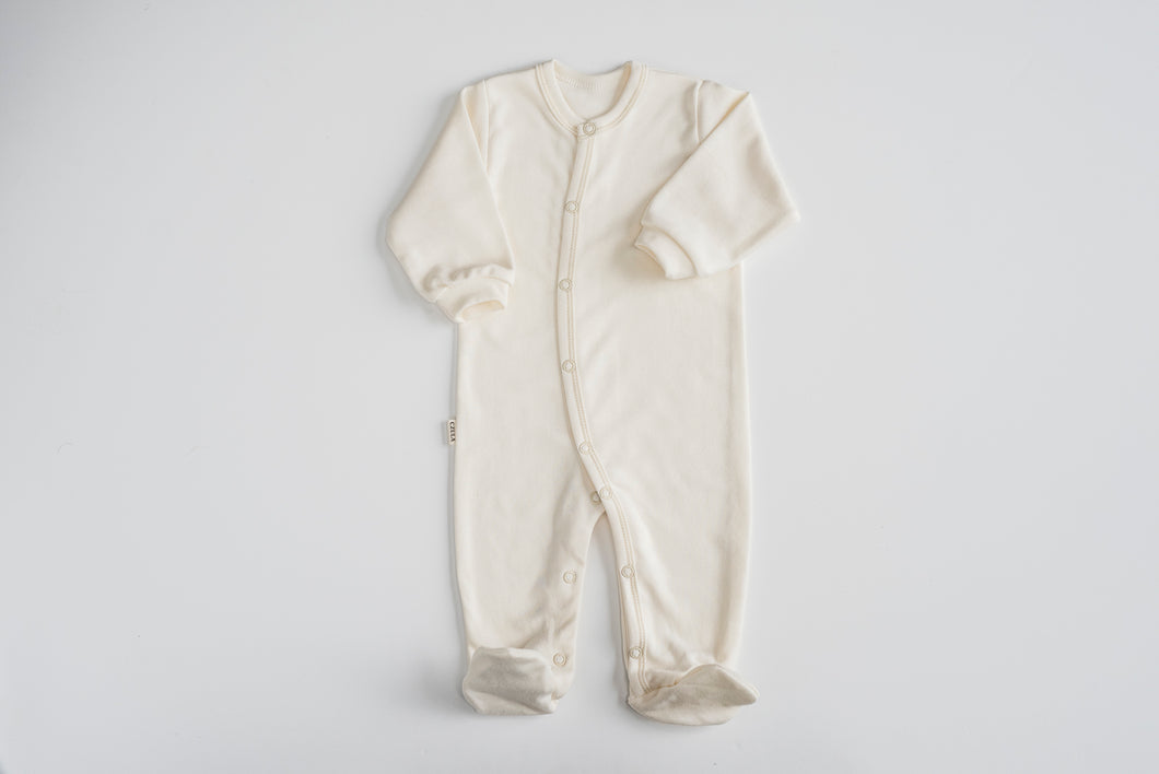 BABA suit with feet and sleeves | overal s nožičkami