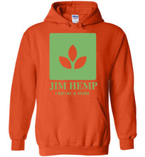 Load image into Gallery viewer, Jim Hemp Original Gildan Heavy Blend Hoodie - Jim Hemp Inc