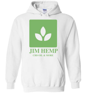 Jim Hemp Original Gildan Heavy Blend Hoodie - Jim Hemp Inc