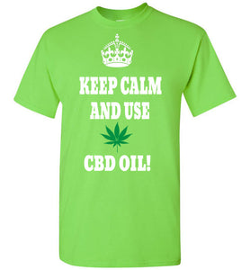 Keep Calm And Use CBD! - Jim Hemp Inc