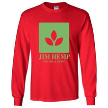 Load image into Gallery viewer, Jim Hemp Original Long Sleeve T-Shirt - Unisex - Jim Hemp Inc