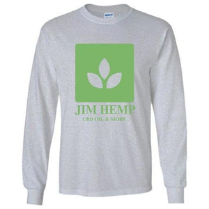 Jim Hemp Original Long Sleeve T-Shirt - Unisex - Jim Hemp Inc