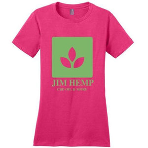 Jim Hemp Original District Made Ladies Perfect Weight Tee T-Shirt - Jim Hemp Inc