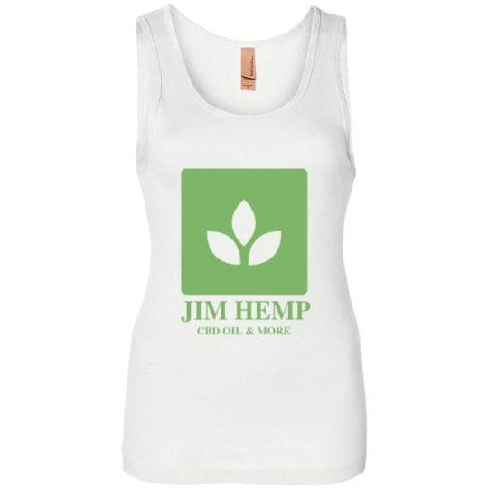 Jim Hemp Original Next Level Ladies Jersey Tank - Jim Hemp Inc