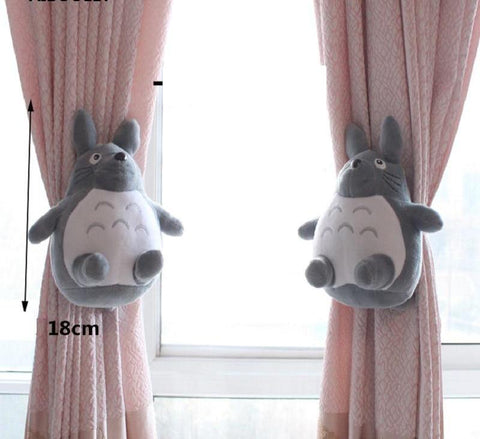 2Pcs/set Totoro Strap Curtain - GhibliFan Shop