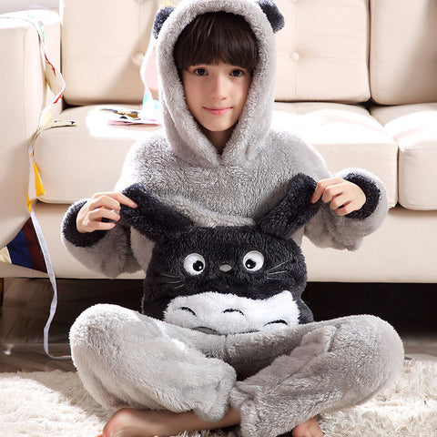 Totoro Winter Pajama Sleepwear