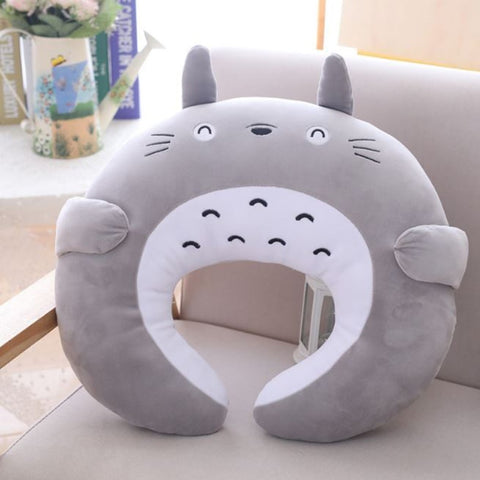 1 Pc  Totoro U Type Travel Pillow - GhibliFan Shop