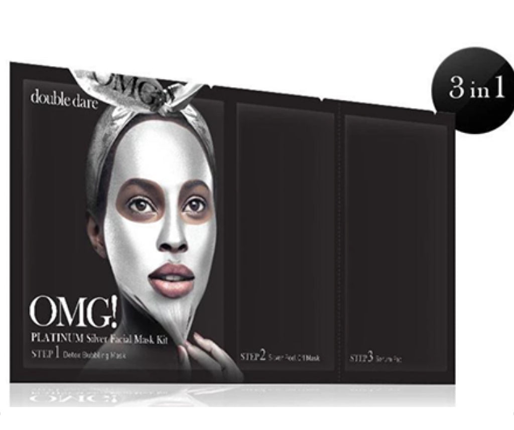 OMG! Platinum Silver Facial Mask Kit