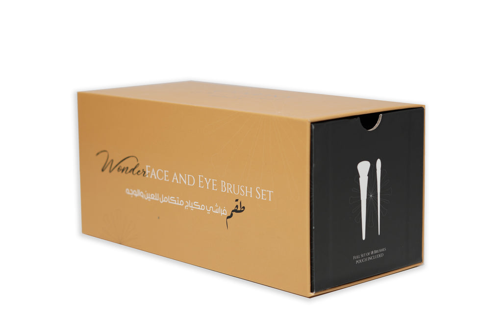 Addoony Face & Eye Brush Set