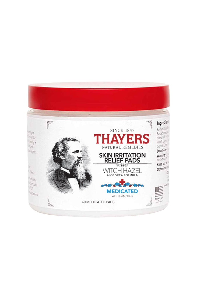 Thayers Medicated Astringent Pads