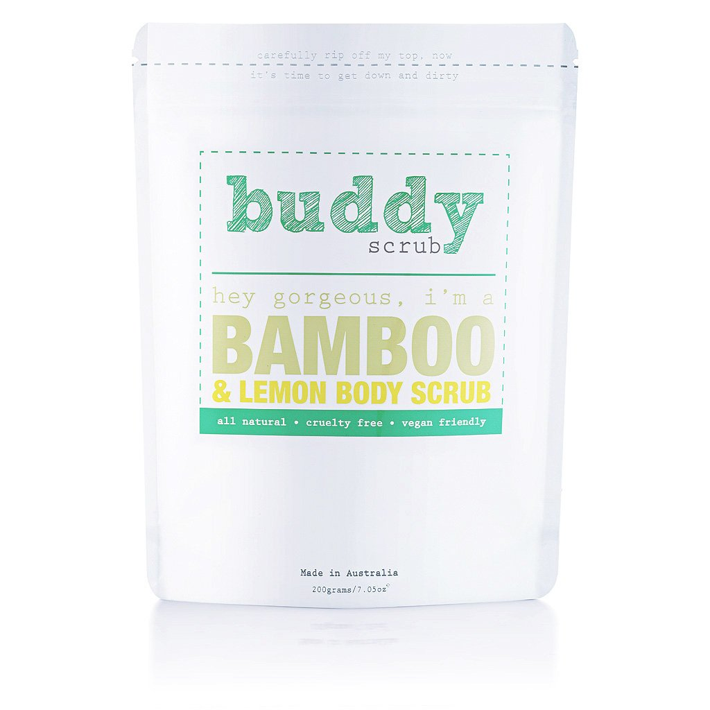 Buddy Bamboo Body Scrub