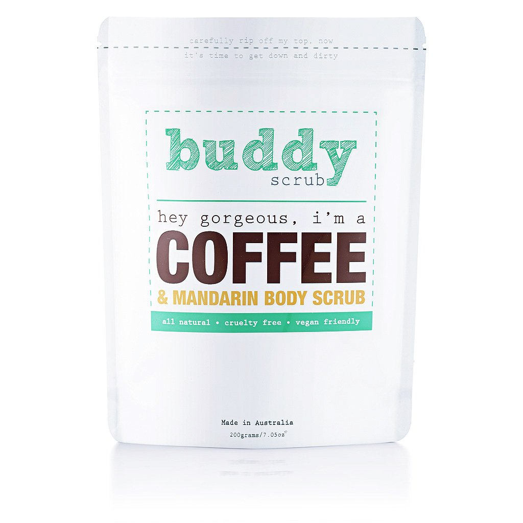 Buddy Coffee Body Scrub بادي سكراب: مقشر القهوة