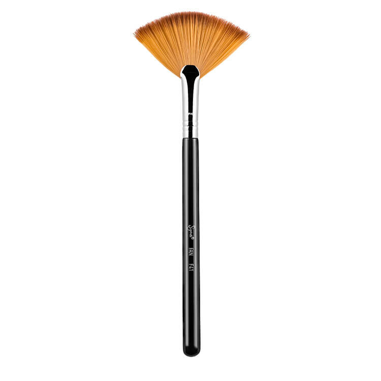 Sigma Individual Fan Brush F41 (Chrome)
