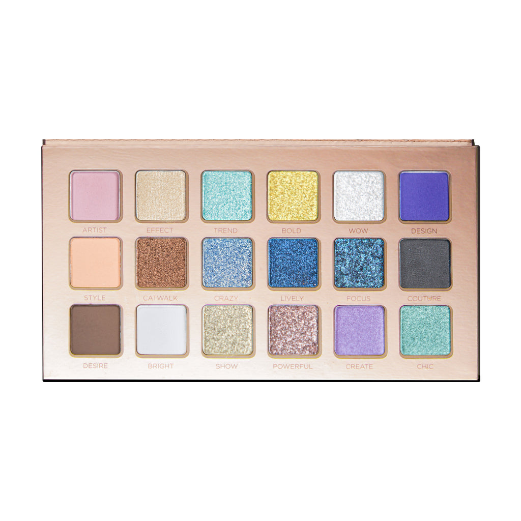 VISEART Eyeshadow Palette Fashion Addict