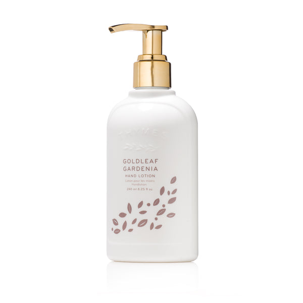 Thymes GOLDLEAF GARDENIA Hand Lotion تايمز: لوشن اليد  - غولد ليف غاردينيا