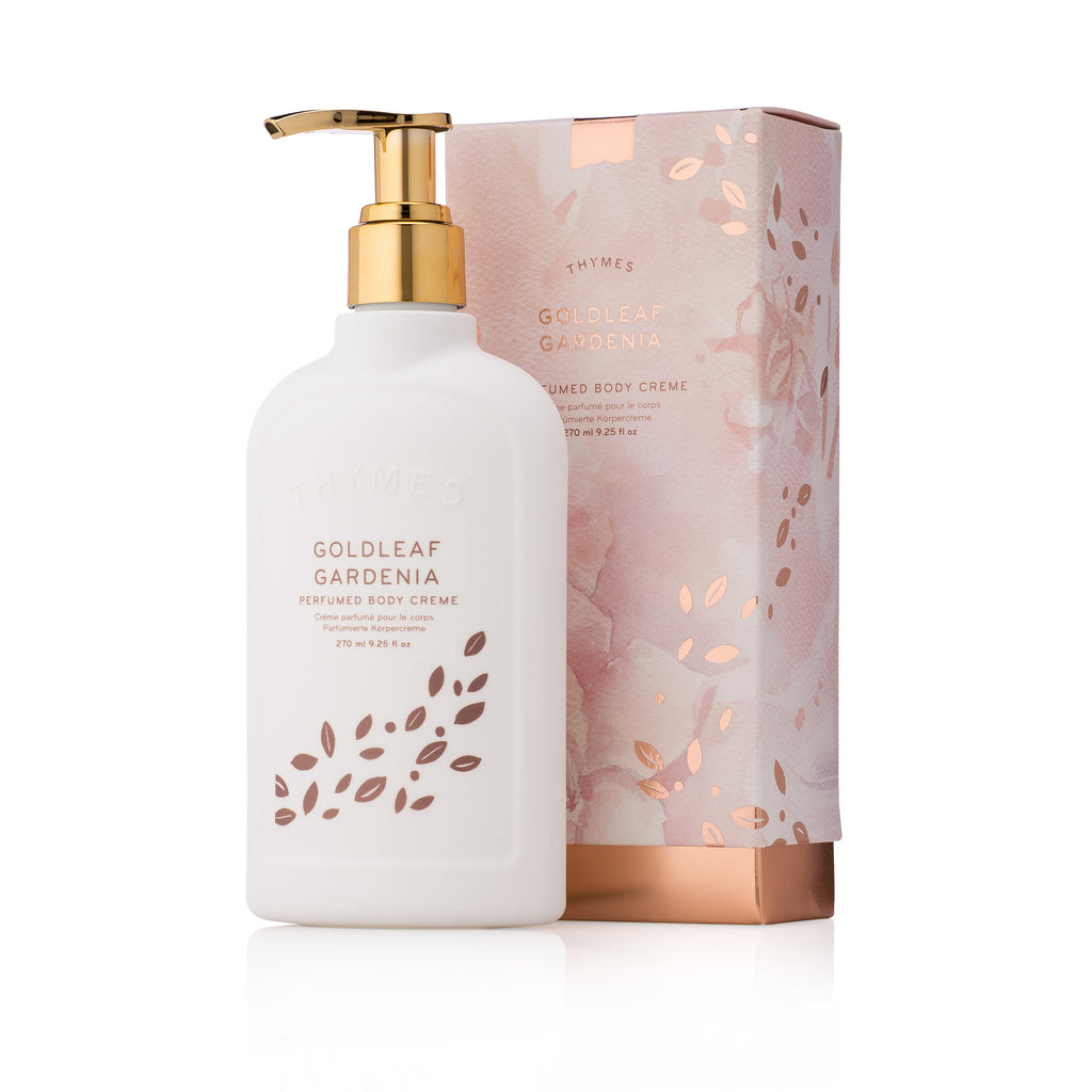 Thymes GOLDLEAF GARDENIA Body Creme