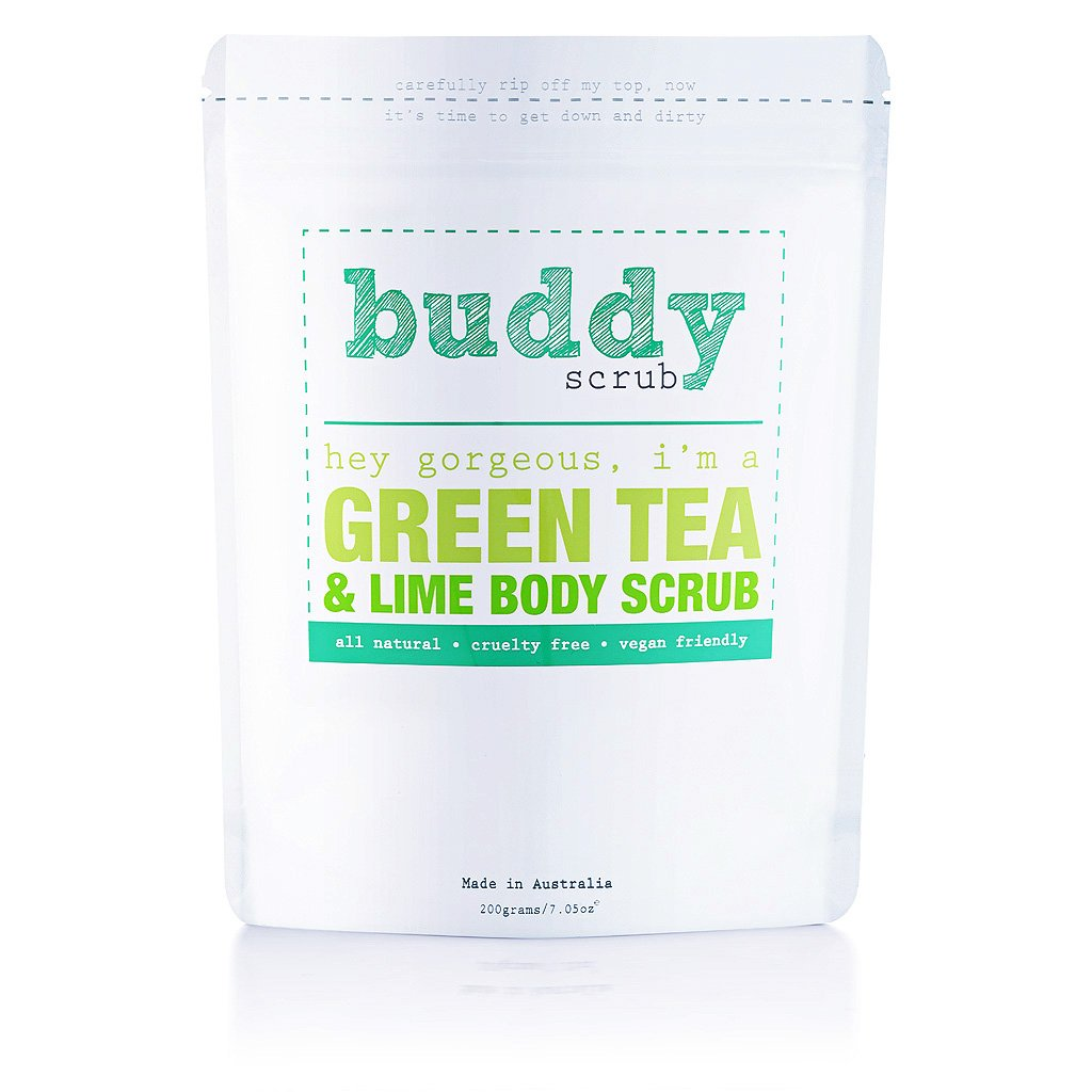 Buddy Green Tea Body Scrub