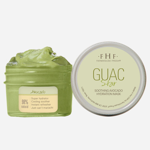 FHF Hydrating & Calming Face Mask (Guac Star: Soothing Avocado)