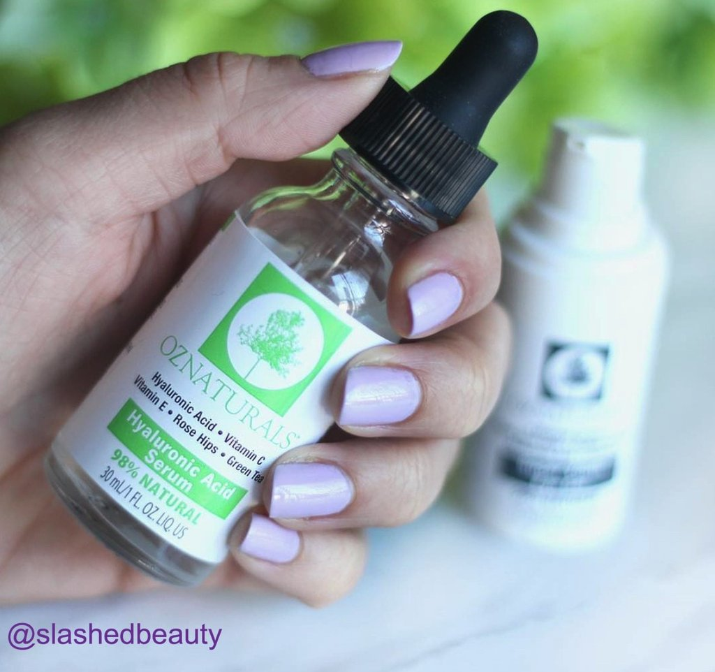 OZ Naturals Hyaluronic Acid Serum