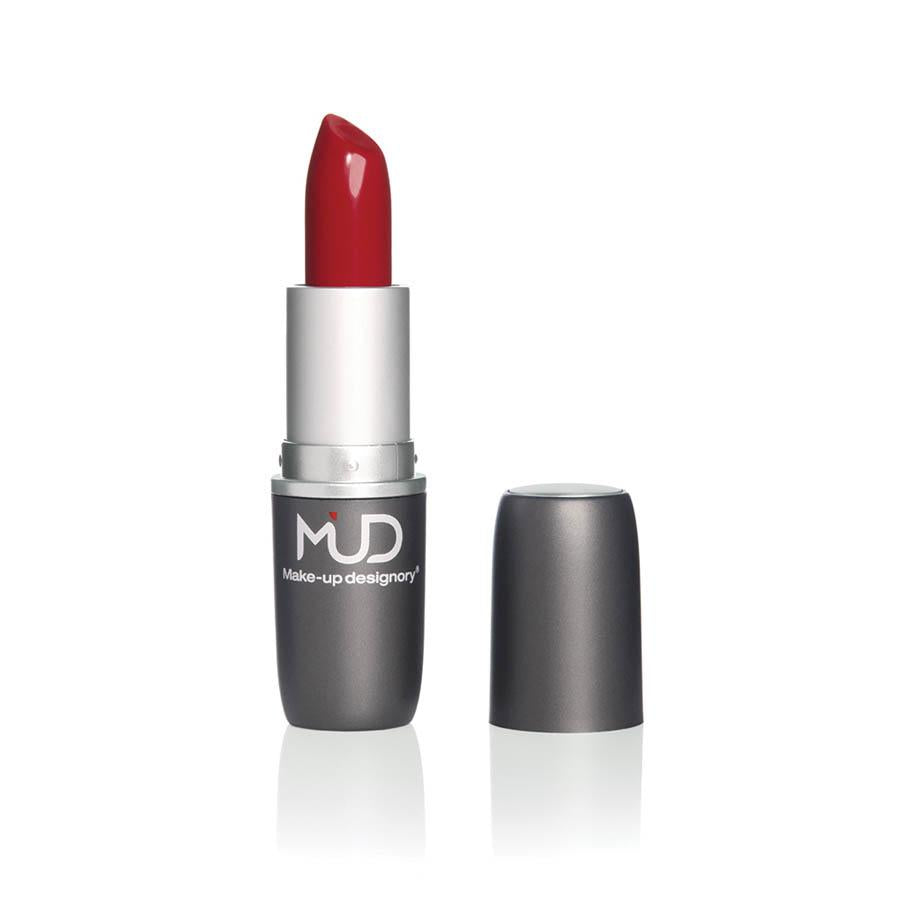 MUD Satin Lipstick (Lady Bug) ماد: روج ساتن (لايدي باغ)