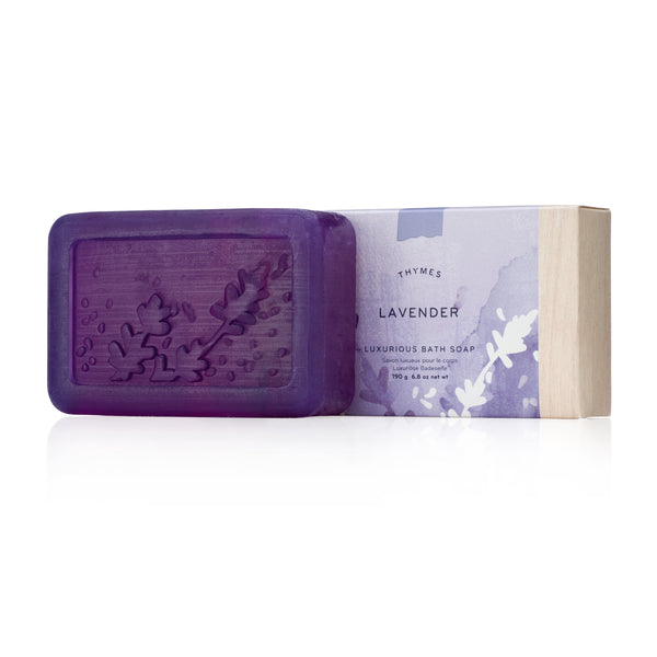Thymes LAVENDER Bar Soap تايمز: بودي بار   - لافندر