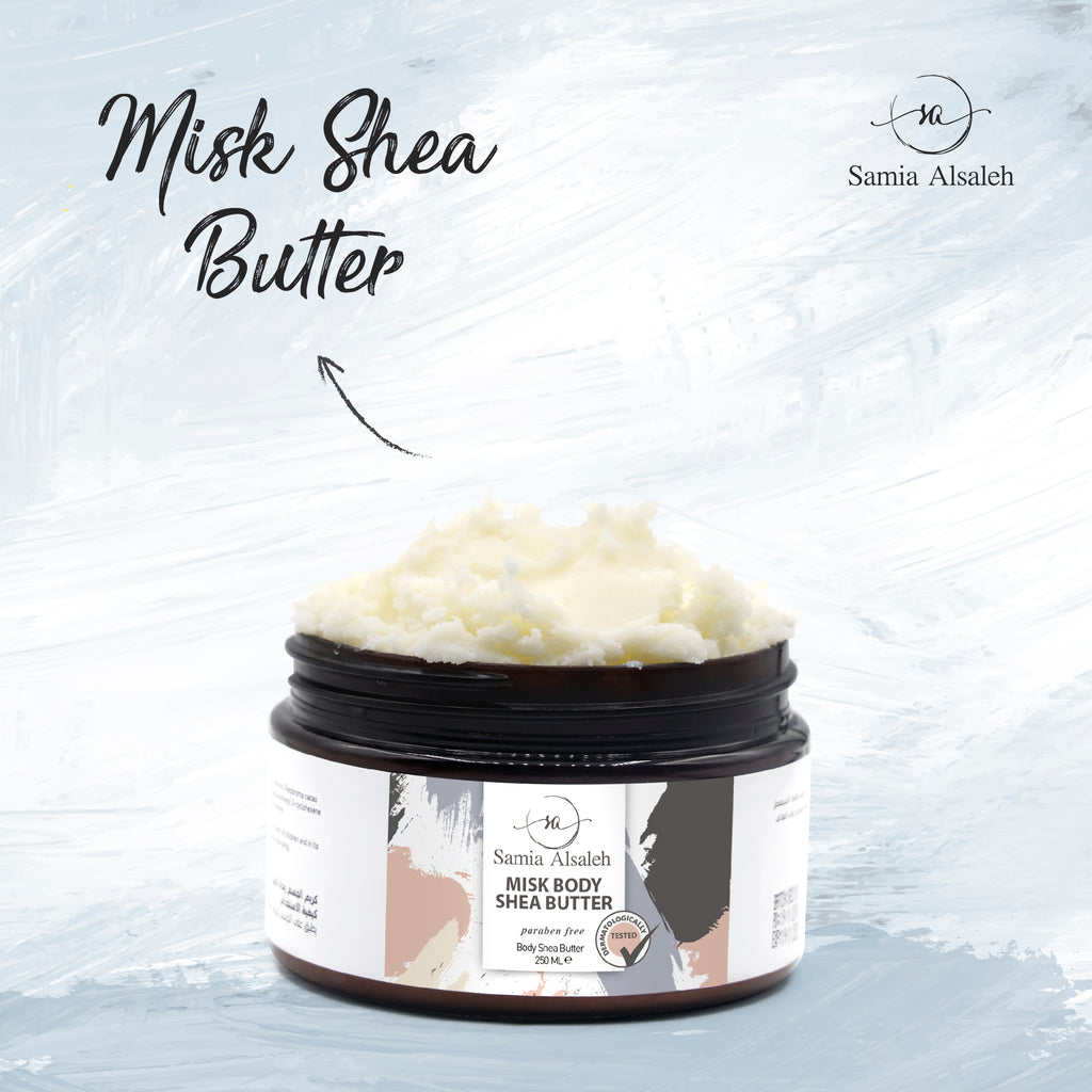 S.A By SAMIA Body Misk Shea Butter (250ML)