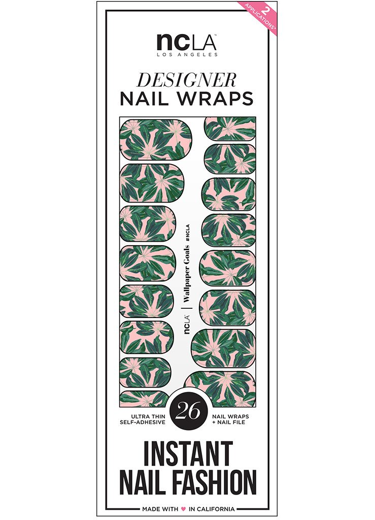 NCLA Nail Wraps (Wallpaper Goals)
