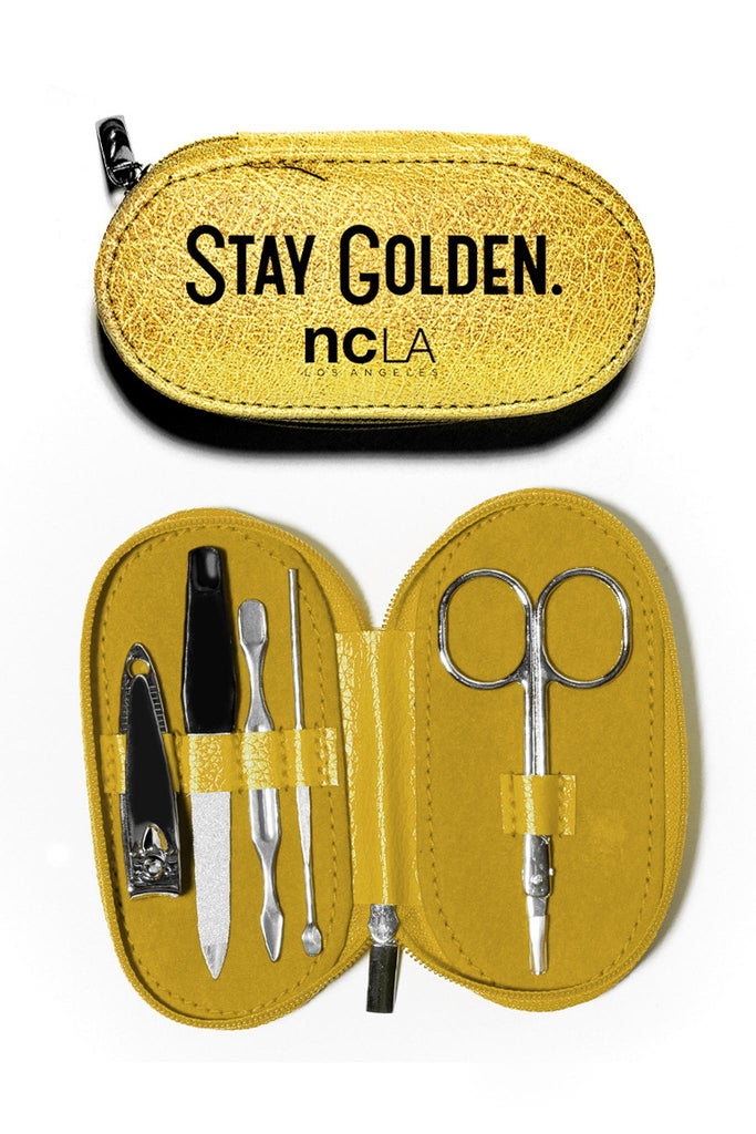 NCLA Nail Kit (Stay Golden)