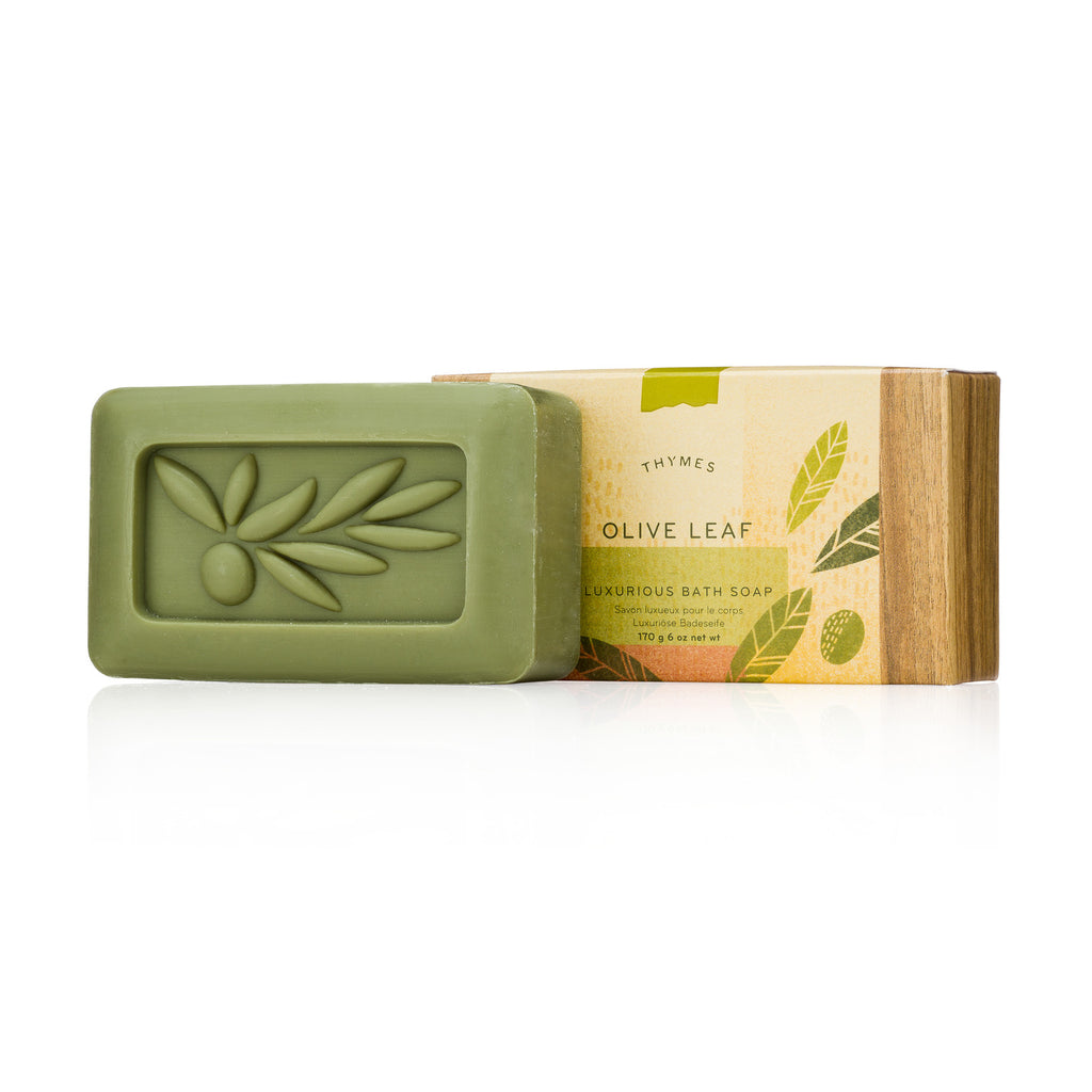 Thymes OLIVE LEAF Bath Soap