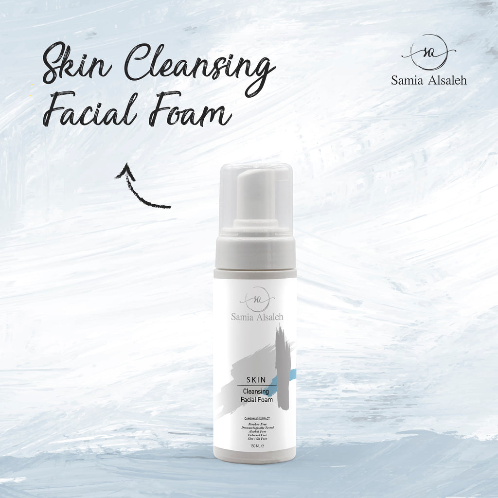 S.A By SAMIA Skinn Cleansing Facial Foam (150ml)