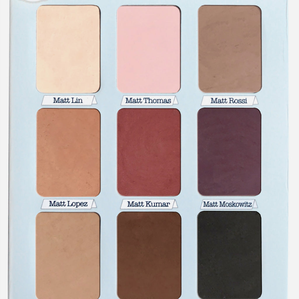 The Balm Eyeshadow Palette (Meet Matte/ Trimony)