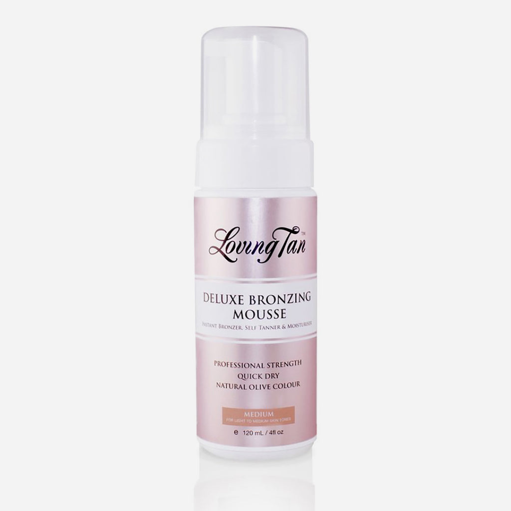 Loving Tan Deluxe Bronzing Mousse 120 ml (Medium)