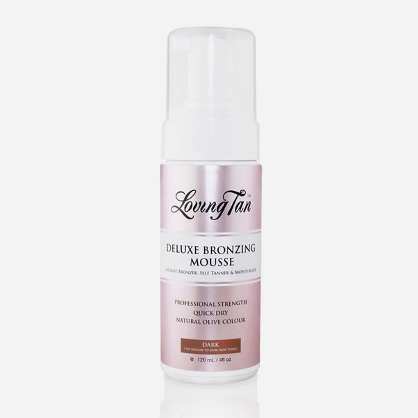 Loving Tan Deluxe Bronzing Mousse 120 ml (Dark) لوفينغ تان: موس التسمير الذاتي ديلوكس ١٢٠ مل -دارك