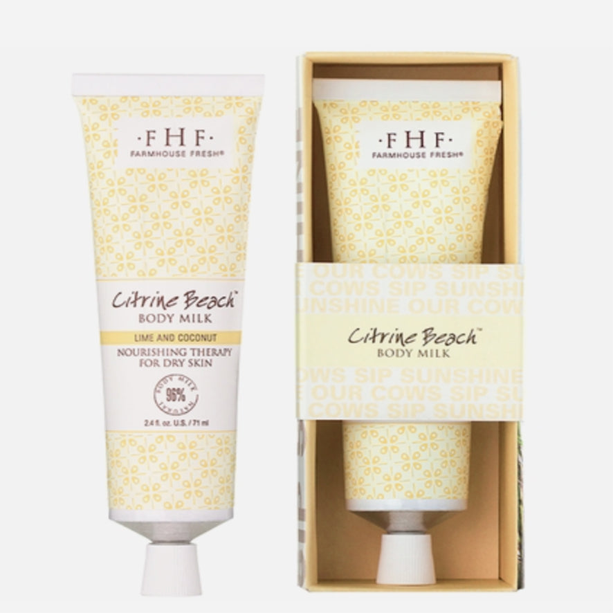 FHF Hand Lotion (Citrine Beach Body Milk)