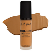 (Golden Bronze)-L.A. Girl PRO Matte Foundation إل آي غيرل: فاونديشن مطفي -غولدن برونز