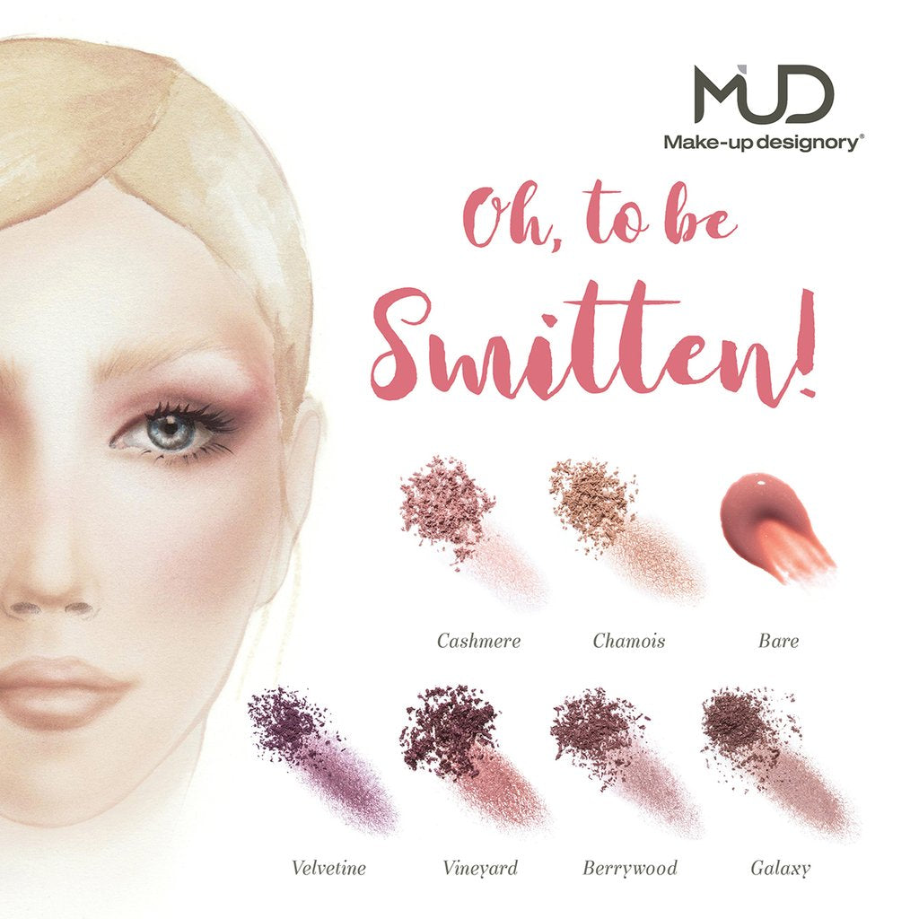 MUD Smitten Collection Palette