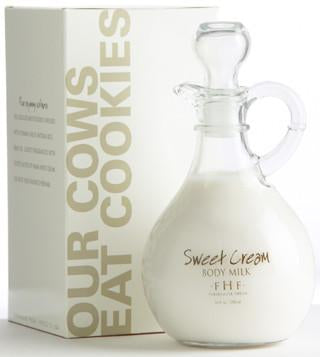 FHF Body Lotion (Sweet Cream Body Milk/ Decorative Cruet)