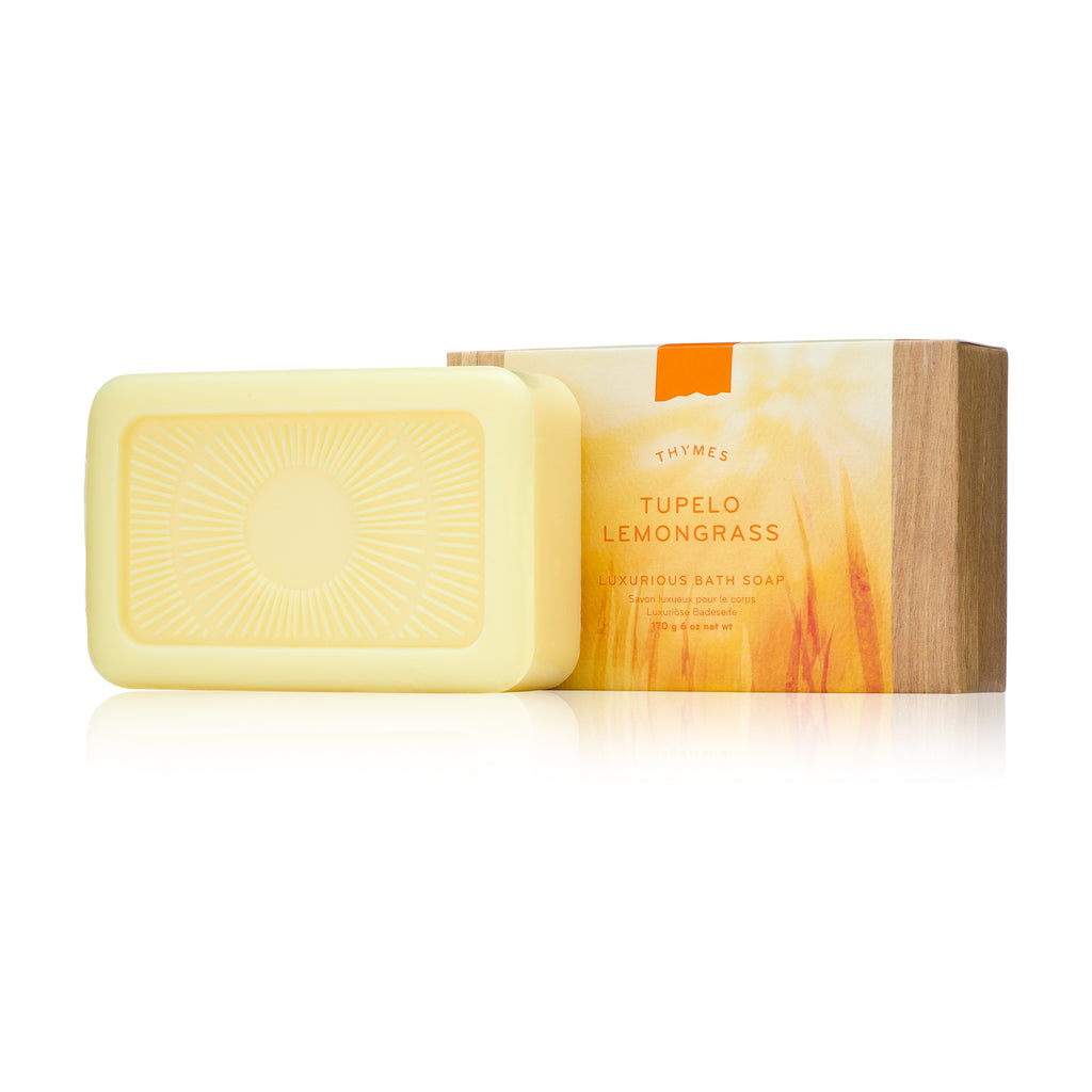 Thymes TUPELO LEMONGRASS Bath Soap