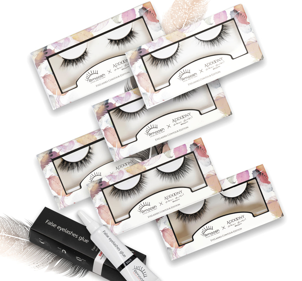 ADDOONY X Rmoosh Mink Eyelashes Contour Full Collection (10% OFF+ Glue)