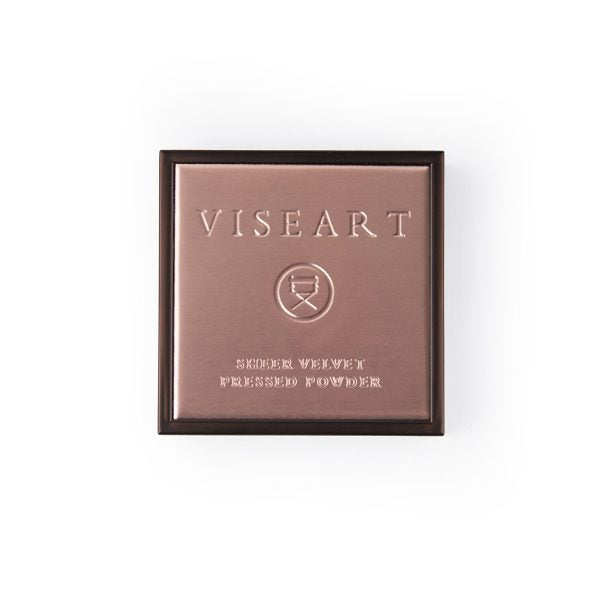 VISEART Sheer Velvet Pressed Powder (Hazel) ڤايزارت: بودرة مضغوطة شير فيلفت: هيزل