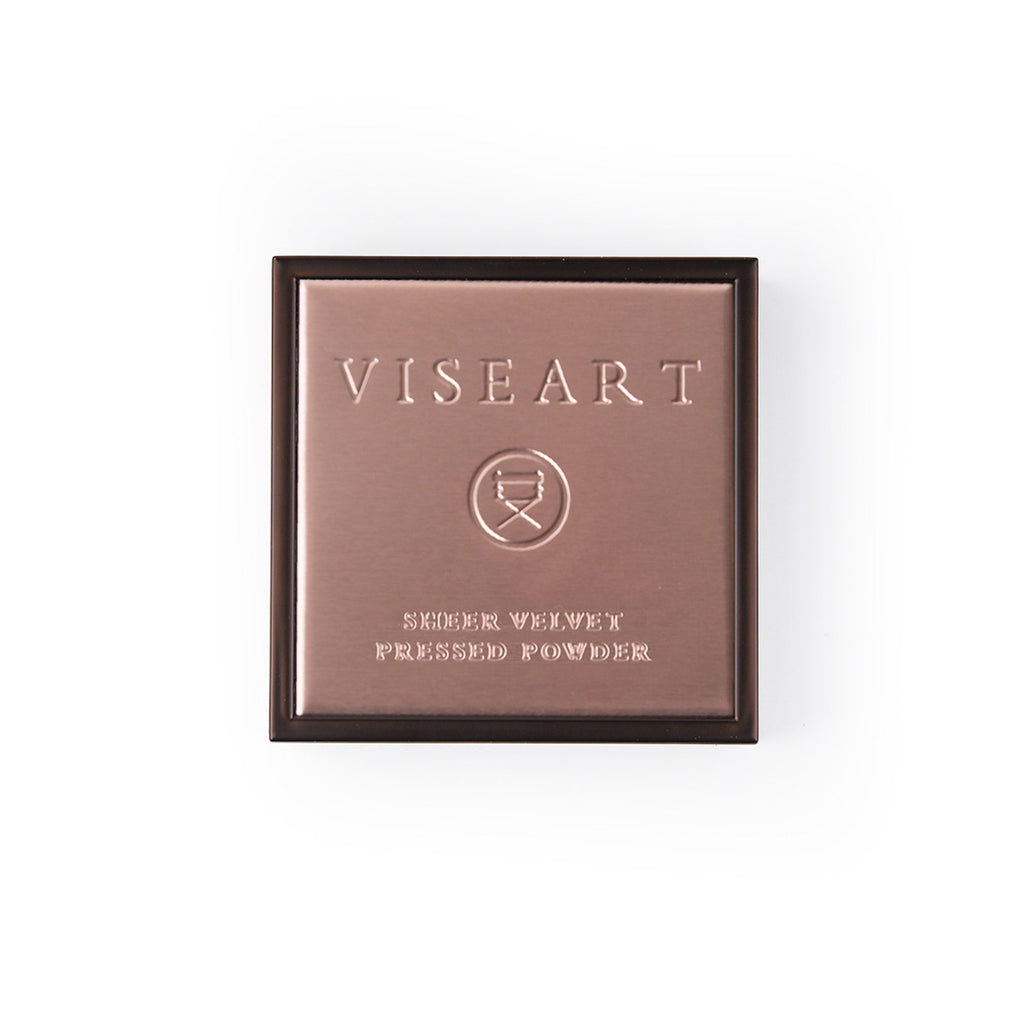 VISEART Sheer Velvet Pressed Powder (Cocoa) ڤايزارت: بودرة مضغوطة شير فيلفت: كاكاو