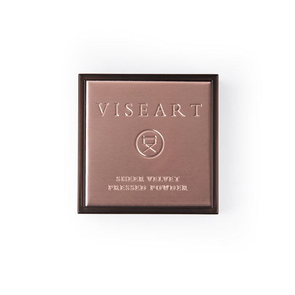 VISEART Sheer Velvet Pressed Powder (Mocha) ڤايزارت: بودرة مضغوطة شير فيلفت: موكا