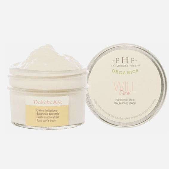 FHF Redness Reducing & Hydrating Face Mask (Will Dew: Probiotic Milk)