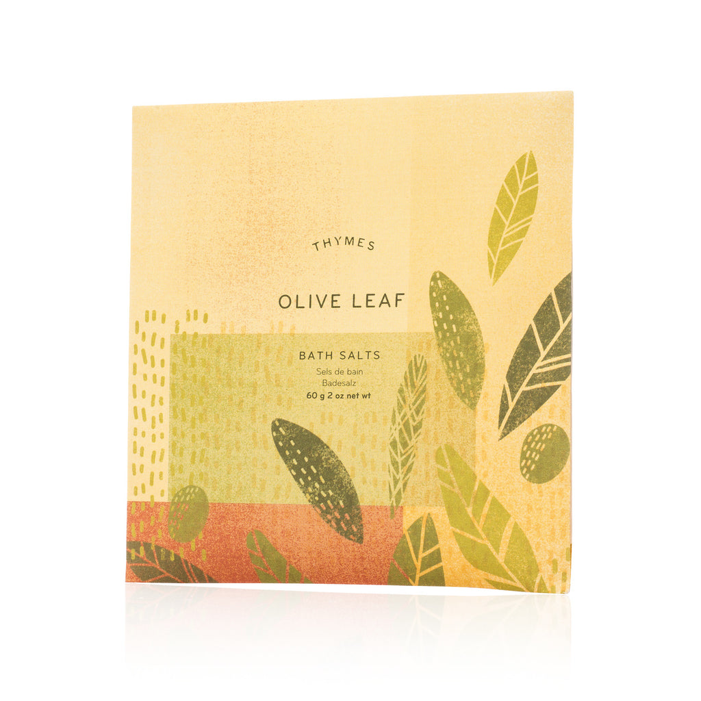 Thymes OLIVE LEAF Bath Salts