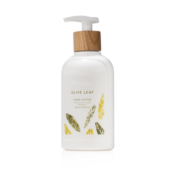 Thymes OLIVE LEAF Hand Lotion تايمز: لوشن لليد  - غولد ليف