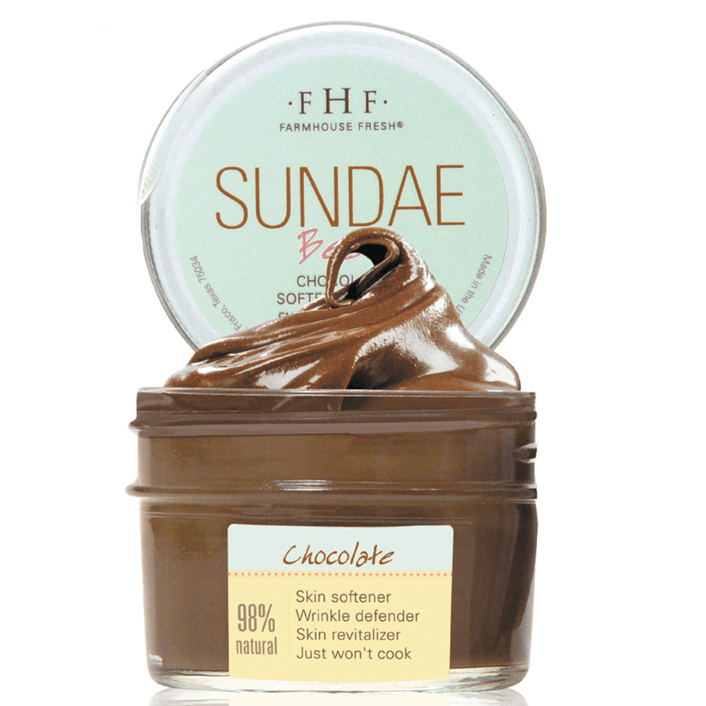 FHF Face Mask (Sundae Best Chocolate Softening Mask)
