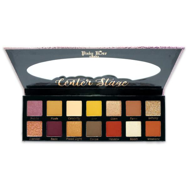 Pinky Rose Center Stage Eyeshadow Palette بينكي روز: باليت ظلال -سنتر ستيج