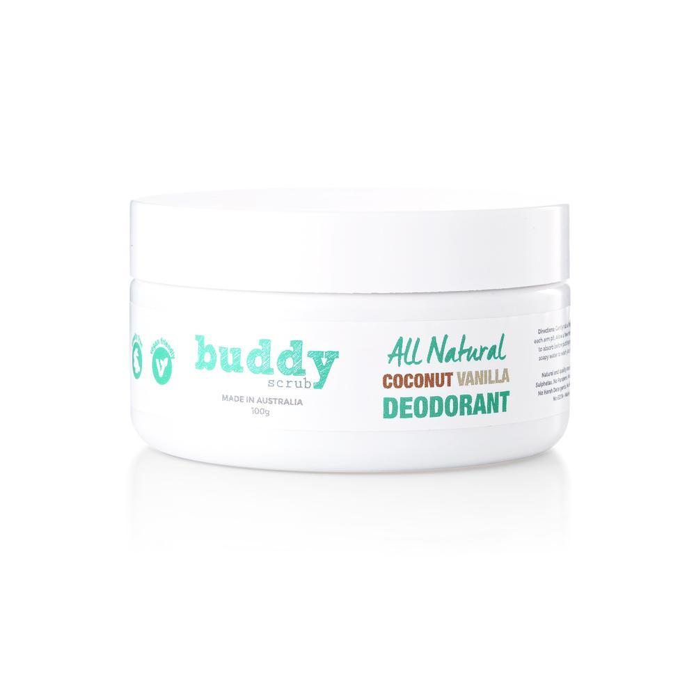 Buddy Coconut & Vanilla Natural Deodorant