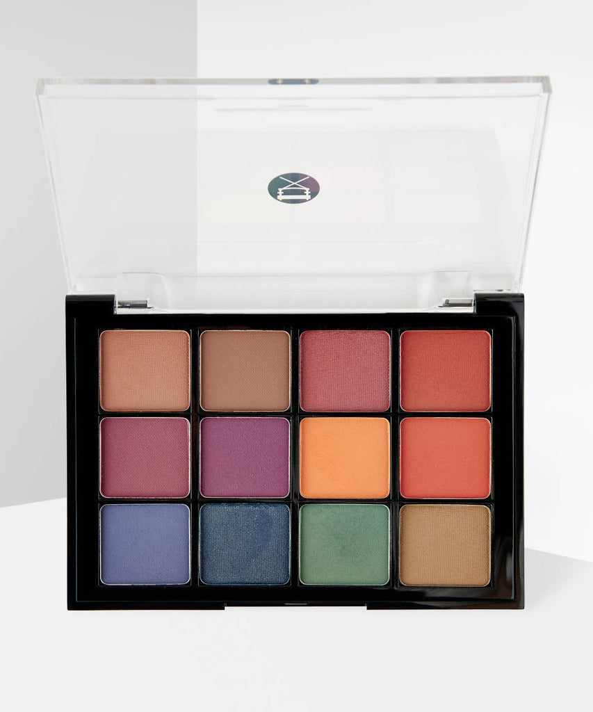 VISEART 04 Dark Mattes Eyeshadow Palette ڤايزارت: باليت ظلال دارك مات